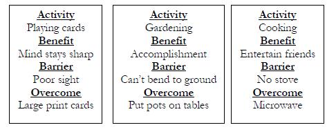 activity example