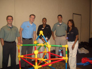 corporate indoor team building games