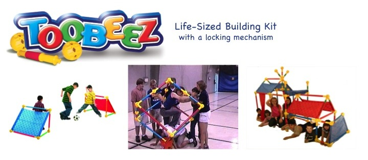 Teenagers Team Building Toys : Toobeez play house team day activities building