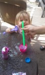 Toddler Bubble Activity